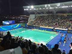 green pool for water polo