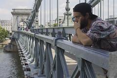 (Gallosdegaraje) Tags: javi budapest puente cadenas hungria summer 2016 danubio