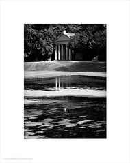 Temple of Piety / Fountains Abbey/Studley Royal, North Yorkshire (Andrew James Howe) Tags: andrewhowe architecture blackandwhite buildings design england fineart uk light landscape mono nikon reflections reflection fountainsabbey studleyroyalpark northyorkshire