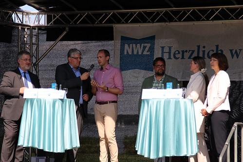NWZ-Podiumsdiskussion mit allen vier örtlichen Bundestagsabgeordneten in Bad Zwischenahn.
