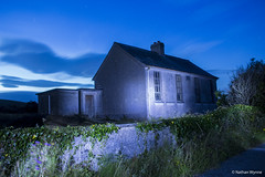 Loughwell School (nathanwynnephotography) Tags: school old abandoned galway moycullen galwaycity ireland canon canon700d 700d nathanwynne galwaycityphotographs photography national exposure night sky building windows longexposure