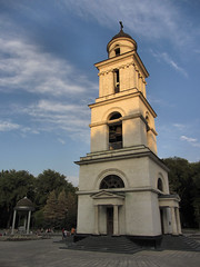 Belltower in Chiinu (AP4J2448 1PS) (Alex Panoiu) Tags: chiinu chisinau church kishinev moldova republicofmoldova buildings architecture