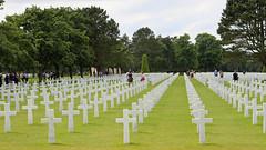 Amerikaanse begraafplaats (13) (Kok Vermeulen) Tags: frankrijk normandi vakantie