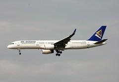 P4-MAS Boeing 757-28A/W 28833/782 Air Astana (howtrans38) Tags: p4mas boeing 757 air astana