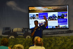 fps-16-237 (AgWired) Tags: farm progress show farmprogressshow agriculture new holland agwired zimmcomm media tractor hay forage harvest combine