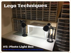 Lego Techniques: #5 Photo Light Box (Siercon and Coral) Tags: lego photo box light techniques