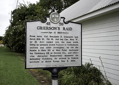 Grieson's Raid Marker La Grange (dcnelson1898) Tags: shiloh tennessee pittsburglanding civilwar history militaryhistory unionarmy confederatearmy battle fight clash states out nps nationalparkservice lagrange colonelbenjamingrierson vicksburgcampaign raid