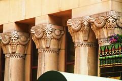 Assyrian sages (DannyAbe) Tags: pythian temple artdeco assyrian columns pillars manhattan upperwestside