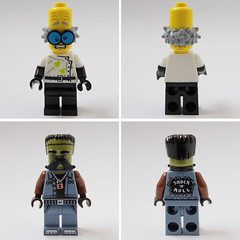 newbies #4 (Sweeney Todd, the Lego) Tags: lego monsters rock frankenstein zombie zombiedriver pizza hut marilyn monroe alien minifigure minifigures moc