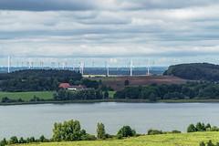 Windland (Martin von Ottersen) Tags: selp18105g mecklenburg germany windturbine landscape lake upahlersee windrad