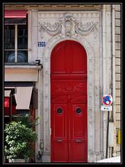 239 boulevard Saint-Germain (thierrymasson94) Tags: 239boulevardsaintgermain porte rouge paris france