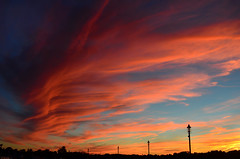 9/11 Sunset (hpaich) Tags: sunset sundown evening twilight sky skies clioud color weather keyport nj jersey newjersey bulkhead