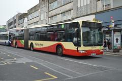 107 BD57WDK (PD3.) Tags: 107 bd57wdk bd57 wdk mercedes citaro bendy 25 university brighton hove district bus coach company go ahead goahead group buses psv pcv sussex england uk