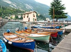 Torbole - Lake Garda - EXPLORED 414 23/09/2016 (jimj0will) Tags: torbole lakegarda italy customshousewater mountains lagodigarda boats waves trees rocks flowers colours colourful italia trento scenicsnotjustlandscapes