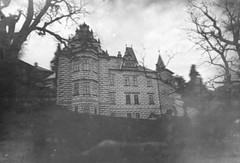 (soleá) Tags: trees blackandwhite bw castle dark photography europa europe fotografie spooky mysterious czechrepublic mansion soleá carmengonzalez carmengonzalezphotography flickrandroidapp:filter=none