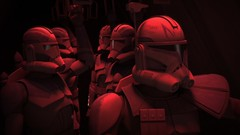 Clones on their way to work (dodkalm72) Tags: starwars clones clonewars captainrex