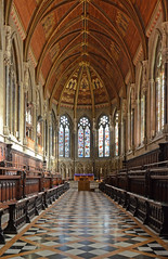 St John's College Chapel - interior (Baz Richardson (trying to catch up!)) Tags: cambridge colleges stjohnscollege victorianarchitecture georgegilbertscott cambridgeuniversity stjohnscollegechapel