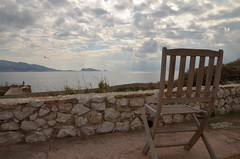 Sit down and relax. (47/365) (joaosilvaferreira) Tags: seascape france landscape island marseille chair seagull if provence chateau chateaudif oceanscape