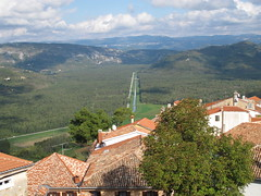 View Over Istrian Countryside from the Fortress Hilltop Town of Motovun (JauntyJane) Tags: croatia balkans istria motovun hilltopfortresstown