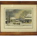 "266. G. H. Durrie ""Home to Thanksgiving"" Lithograph"