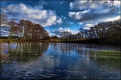 Is the ice safe! (gos1959) Tags: trees winter lake ice clouds denmark reflex pond safe jammerbugt aabybro gynther mygearandmebronze mygearandmesilver mygearandmegold biersted gos1959 canonpowershotsx50hs vigilantphotographersunite vpu2 vpu3 vpu4 vpu5 vpu6 vpu7 vpu8 vpu9 vpu10