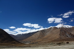 Near Tangtse in Ladakh, India (Chandravir Singh) Tags: india nature canon landscape eos leh ladakh 450d colddesert canonefs1855mmf3556is aksveer
