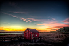 Little House (eCHstigma) Tags: california sunset nature zeiss landscape bay nikon fremont donedwards walkway hdr marshland refuge distagon d600 zf2 25mmf2 distagont225