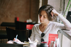 Zoya_1 (Diana Rybakova) Tags: summer film cafe poetry kodak russia moscow scan diana 2010 rybakova