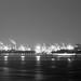 """""""春夜微風煙如扇 水靜江寧霧滿天"""" / 夜之寧 Serenity at Night / SML.20130225.EOSM.02490.P1.L1.BW"""