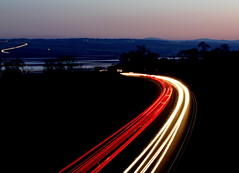 Rush Hour (Ally.Kemp) Tags: bridge light long exposure trails rossshire a9evanton