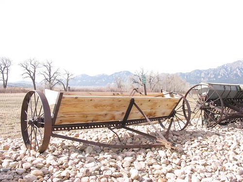 Photo - Manure spreader