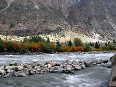 River Sheen (Tanwir Jogi) Tags: travel pakistan red lake nature water beautiful yellow trekking trek river stones adventure cannon traveling tours sheen lahore yasin autmn treks naturelover jogi g9 beautifulpakistan karomber trekkinginpakistan cannong9 tanwir travelinginpakistan thetrekkerz tourisminpakistan tanwirjogi chotayasin vergoth