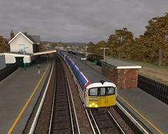 Sandown station (APB Photography™) Tags: game station screenshot railway isleofwight londonunderground sandwon class483 trainsimulator2013