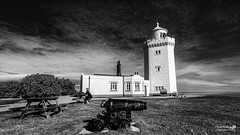 South Foreland Lighthouse and Canon (LeePellingPhotography.co.uk) Tags: lighthouse st south dover foreland margrets cliffe