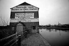 End of the line....... (Dafydd Penguin) Tags: canal nikon industrial sigma d600 ellesmere sigma14mm