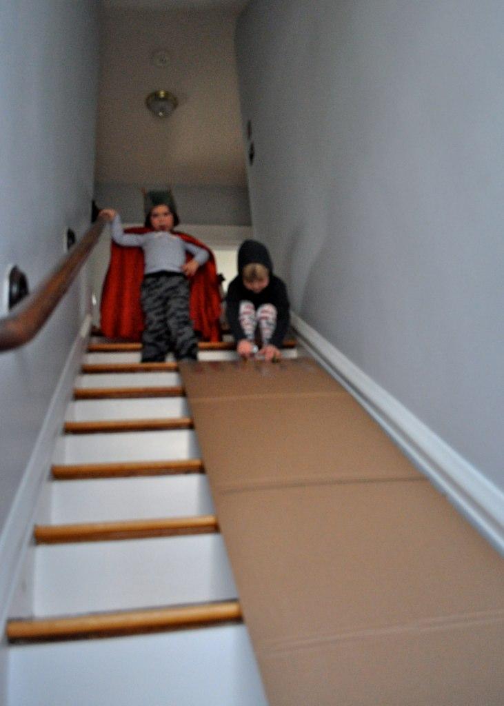 Diy Fun Stairway Slide Crumbbums
