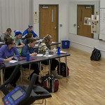 "<b>Physiology of Exercise</b><br/> Physiology of Exercise Lab, Spring of 2013. Instructed by Brian Solberg. Photograph by Jaimie Rasmussen<a href=""http://farm9.static.flickr.com/8099/8535757776_083912f5f6_o.jpg"" title=""High res"">∝</a>"