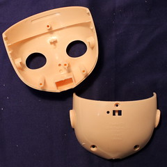 RBL Blythe head parts (*Pppilottchen aka dollily*) Tags: head faceplate innen part unknown inside blythe kopf unbekannt backofthehead teile hinterkopf gesichtsteil