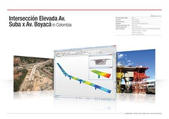 Intersección Elevada Av. Suba x Av. Boyacá in Colombia (MIDAS IT) Tags: bridge project colombia cable structure application civil pont dart stayed midas voute analysis poutre suspendu ouvrage analyse haubant structurelle