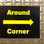 Around Corner Sign Out of Context thumbnail