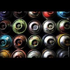 'Tools of the Trade' in the #studio with Xenz. #wallkandy #xenz #art #painting #graffiti #streetart #painting @zu3x #fb #f #t (Photos  Ian Cox - Wallkandy.net) Tags: street streetart london art canon studio ian photography graffiti gallery can document cox spraypaint aerosol 2013 wallkandy