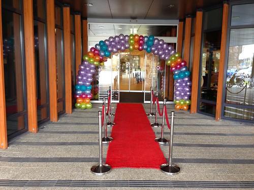Ballonboog 7m Argos Vlaardingen Open Dag van de Zorg