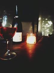 1363421535773 (jasminekate_) Tags: sunlight reflections candles shadows wine moscato samsunggalaxynote2 samsunggalaxynoteii
