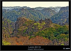 Laos 2013 (pharoahsax) Tags: world abstract mountains get colors rocks asia asien berge laos karst hdr abstrakt felsen 2013 pmbvw worldgetcolors