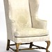 25. Ball and Claw Foot Wing Chair