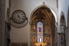 Capilla Strozzi de Mantua (Sarmale / OAyuso) Tags: europa italia arte objetos artistas florencia relojes santamarianovella enlaciudad nardodicione andreaorcagna capillastrozzidemantua polípticodeandreaorcagna