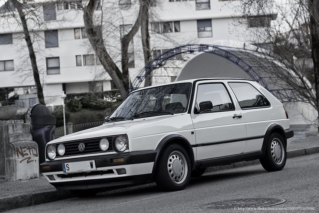 golf volkswagen gti 1990