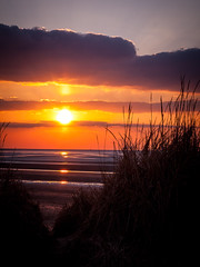 Good Friday Sunset.-1 (kingo62) Tags: england liverpool bay wirral