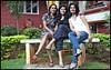 Lovely ladies on a park bench (Nagarjun) Tags: bangalore ruchi kaushal vedant anindita ipsita malathi sowmya murli casaansal