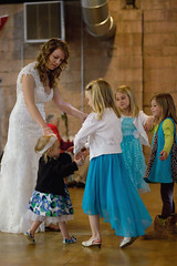 Courtney & the girls (JNT Visuals) Tags: wedding center 66 reception chandler ok rt interpretive